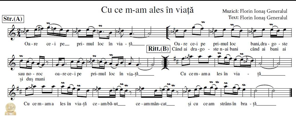 """Muzica si Text Florin Ionas """"Generalul"""""""